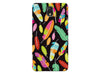 Colorful Feather Pattern Phone Case