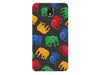 Durable Multi - Colored Elephant Phone Case