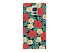 Red & White Floral Pattern Phone Case