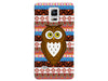 Aztec Background Owl Phone Case