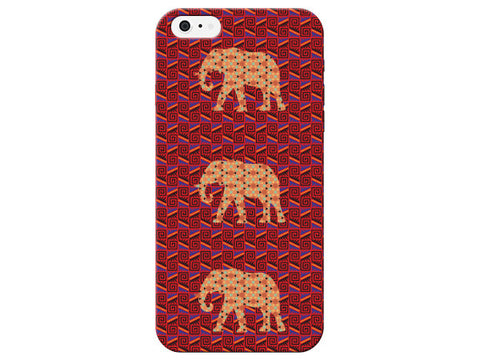 Geometric Print 3 Elephant Phone Case
