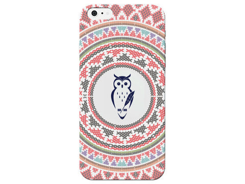 Owl Cross Stitch Phone Case