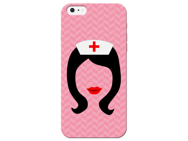 Nurse Silhouette Phone Case