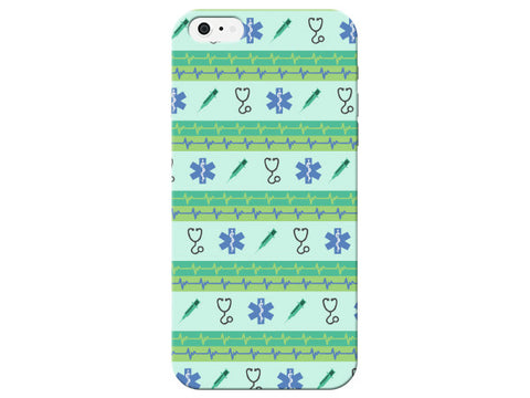 Mint Green Medical Icon Phone Case