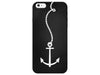 Nautical Rope & Anchor Chalkboard Phone Case