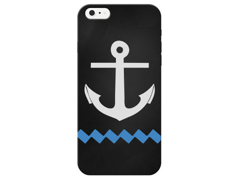 Nautical Chalkboard Anchor & Water Phone Case