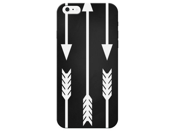Chalkboard Design Three Arrows Phone Case