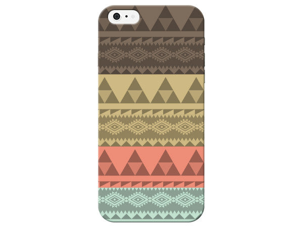 Aztec Pastel Stripe Phone Case