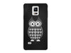 Black & White Cute Owl Phone Case