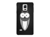 Wide Eyed Owl Chalkboard Phone Case