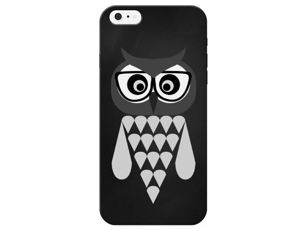 Owl with Glasses Cute Phone Case