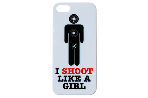 I Shoot Like A Girl Phone Case