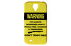 Warning Don't Tempt Me Phone Case