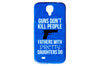 Guns Don't Kill People Funny Phone Case