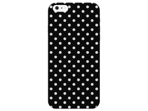Patterned Black Polka Dot Phone Case