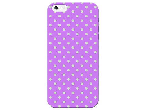 Lilac Polka Dot Fashion Phone Case