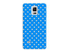 Blue Trendy Polka Dot Phone Case