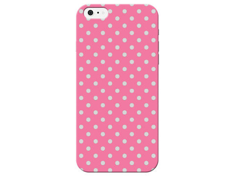 Cute Light Pink Polka Dot Phone Case