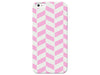 Pink Pastel Herringbone Phone Case