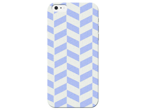 Blue Pastel Herringbone Phone Case
