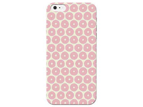 Orange Pastel Honeycomb Phone Case