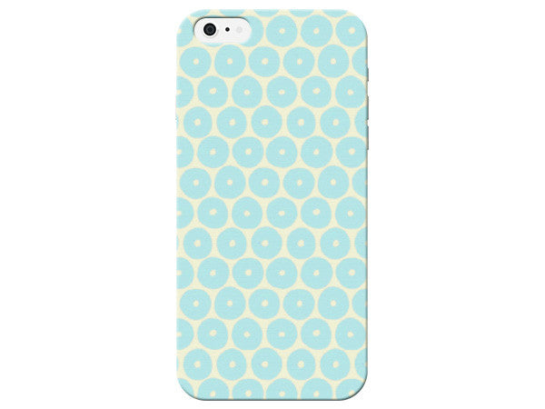Blue And Yellow Pastel Honeycomb Phone Case