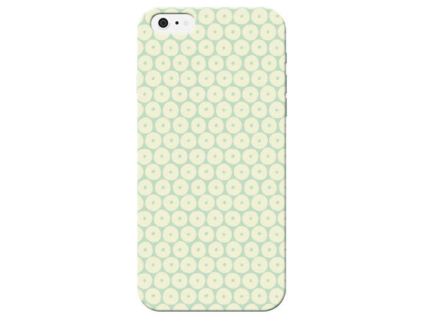 Green And Yellow Pastel Honeycomb Phone Case