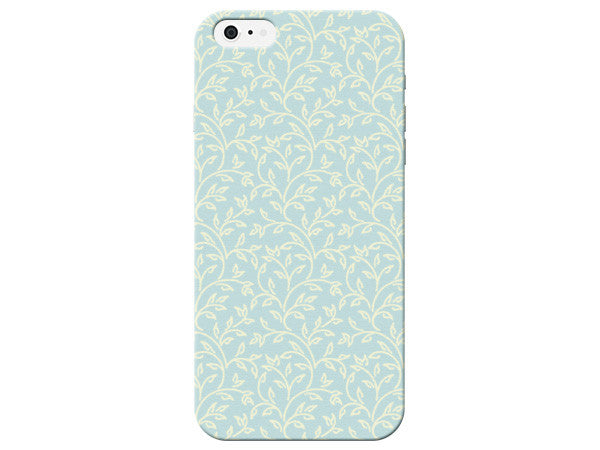 Blue Floral Pastel Phone Case