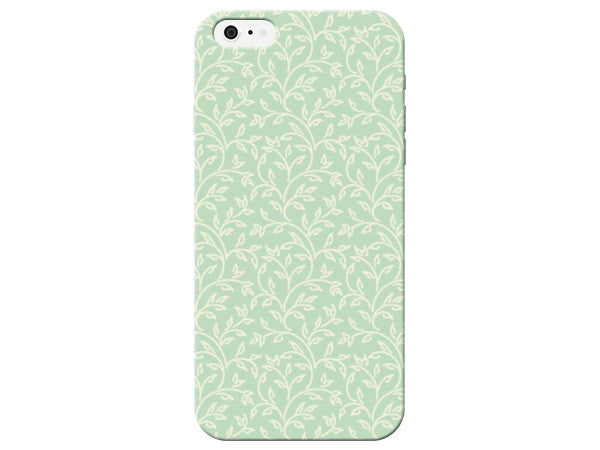 Green Floral Pastel Phone Case