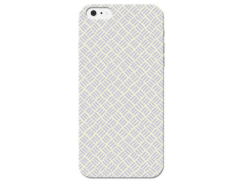 Purple Stitch Print Pastel Phone Case