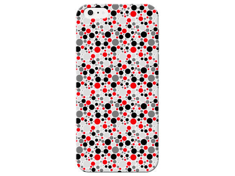 Red Multi Dots Pattern Phone Case