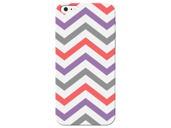 Colorful Chevron Print Phone Case