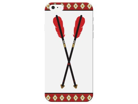 Red Feather Arrow Phone Case