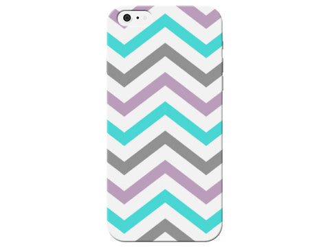Pastel Chevron Patterned Phone Case