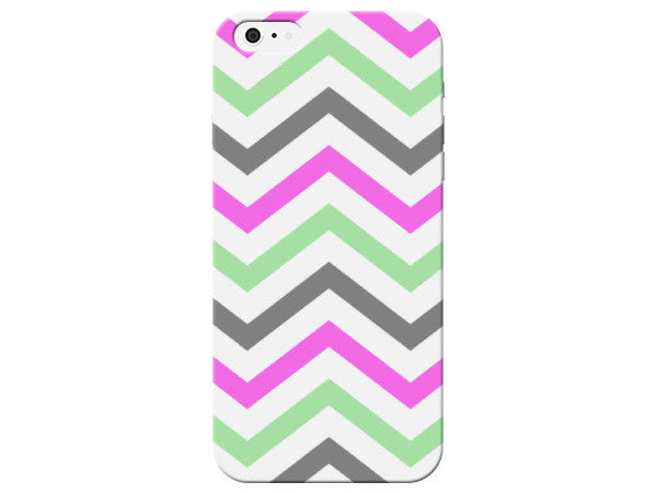 Colorful Patterned Chevron Phone Case