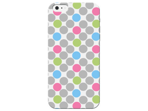 Pink, Blue, & Green Polka Dot Phone Case