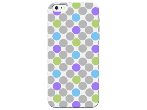 Large Polka Dot Print Phone Case