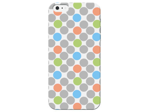 Colorful Polka Dot Print Phone Case