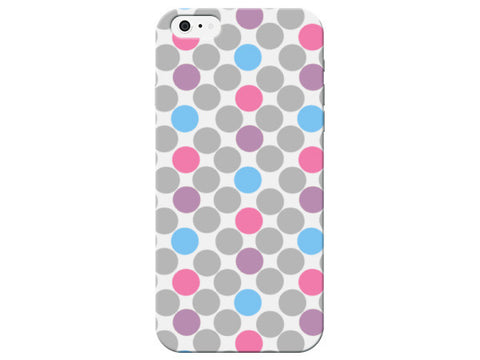 Cute Pastel Large Polka Dot Phone Case