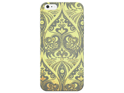 Cute Yellow Peacock Phone Case
