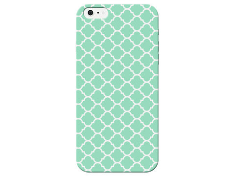 Light Green Moroccan Pattern Phone Case