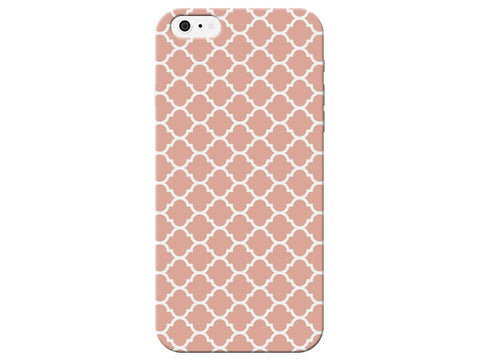 Coral Patterned Moroccan Phone Case