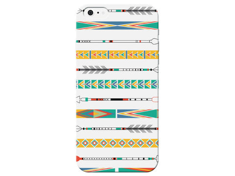 White Indian Arrow Phone Case