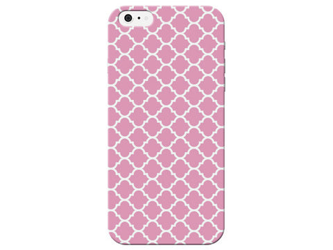 Light Pink Moroccan Print Phone Case