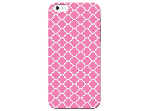Pink Moroccan Pattern Phone Case