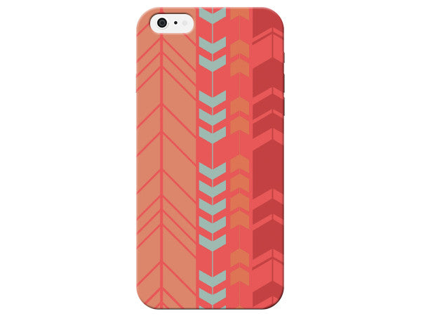Red Vertical Arrow Phone Case