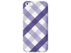 Cute Purple Plaid Phone Case