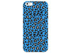 Turquoise Cheetah Pattern Phone Case