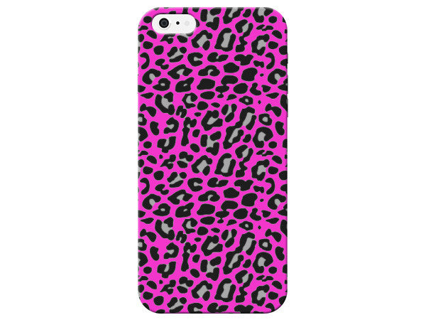 Bright Pink Cheetah Spots Phone Case