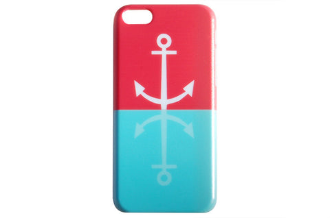 Nautical Reflection Anchor Phone Case